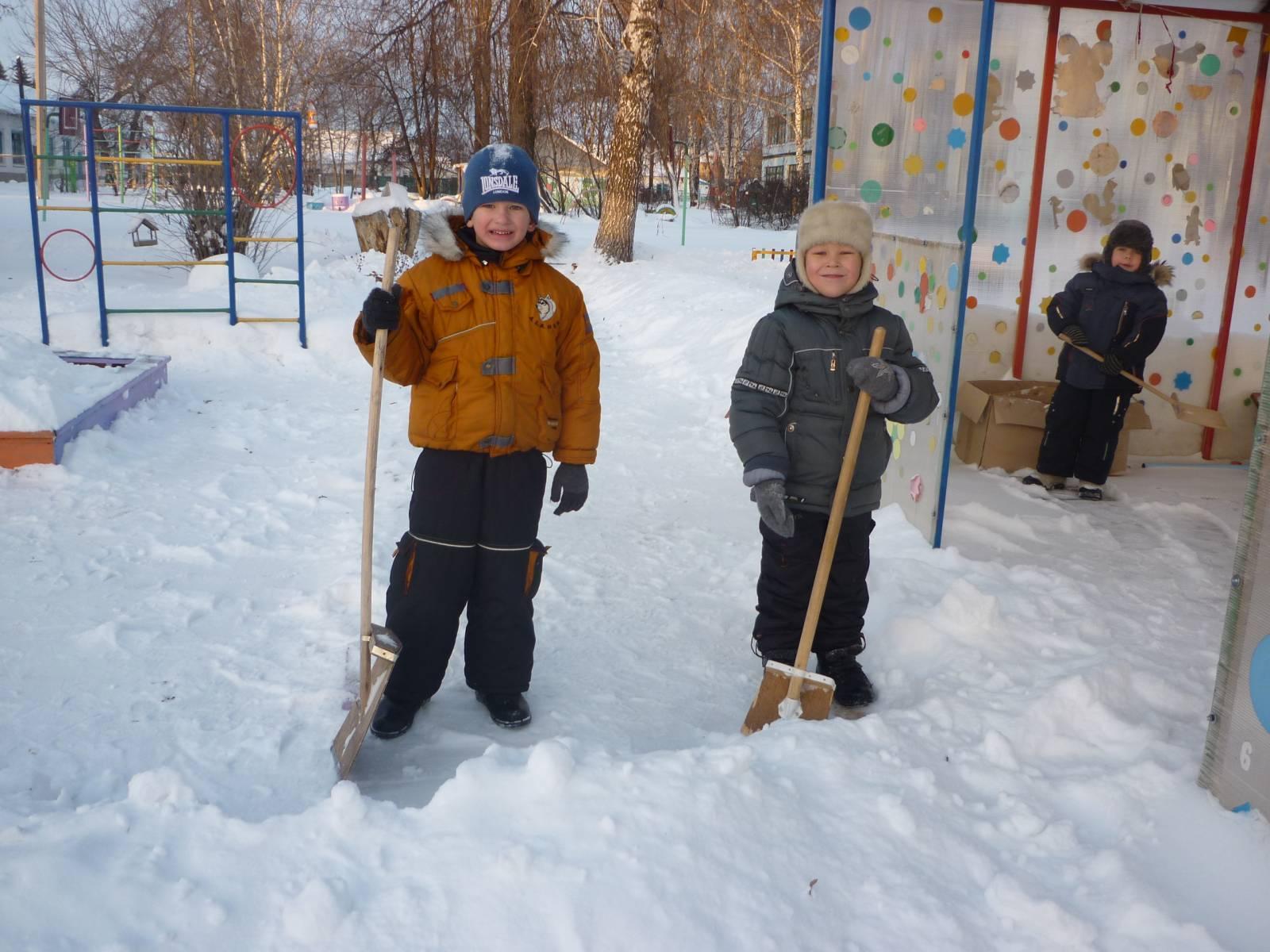Зимние человечки картинки зима 4